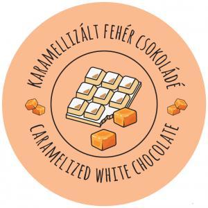 karamellás fehér csokoládé kocka