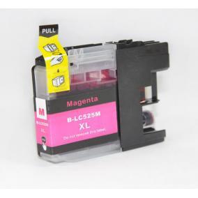 Brother LC 525 XL utángyártott tintapatron magenta