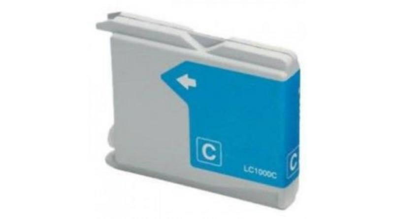 Brother LC1000 / LC970 Cyan utángyártott tintapatron