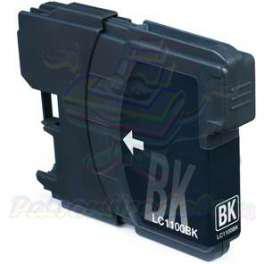 Brother LC1100/980Bk fekete utángyártott tintapatron (tipp:szettben olcsóbb )