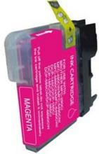 Brother LC1100/980M magenta utángyártott tintapatron (tipp :szettben olcsóbb)