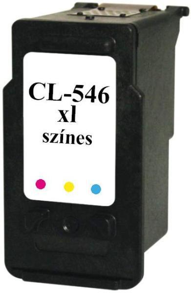 Canon CL-546XL Utángyártott Tintapatron (Színes)