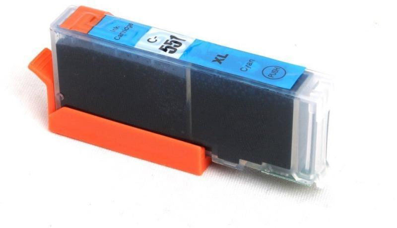 Canon CLI-551C XL cyán  utángyártott chipes tintapatron