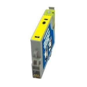 EPSON T0484 utángyártott tintapatron sárga
