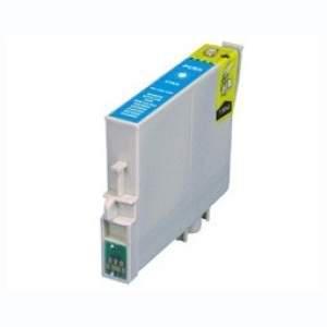 Epson T0712/892  cyán utángyártott tintapatron  v6.0 chipes (ajánlat: multipackban olcsóbb)