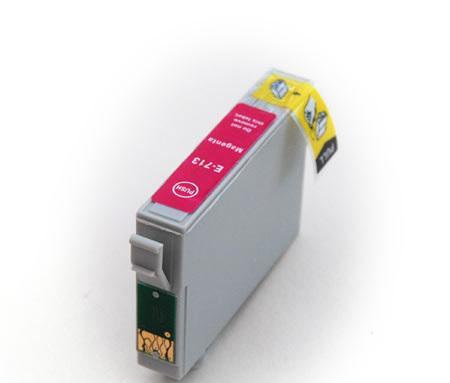 Epson T0713/893 magenta utángyártott tintapatron  v6.0 chipes (ajánlat: multipackban olcsóbb)