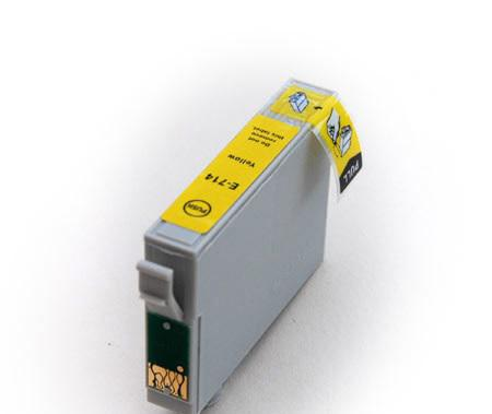 Epson T0714/894 sárga utángyártott tintapatron  v6.0 chipes (ajánlat: multipackban olcsóbb)