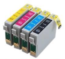 Epson T0715 BCMY utángyártott tintapatron multipack