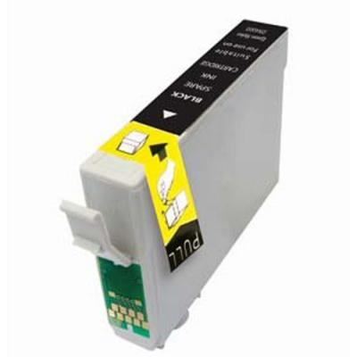 Epson T1281 BK fekete utángyártott tintapatron Prémium minőség