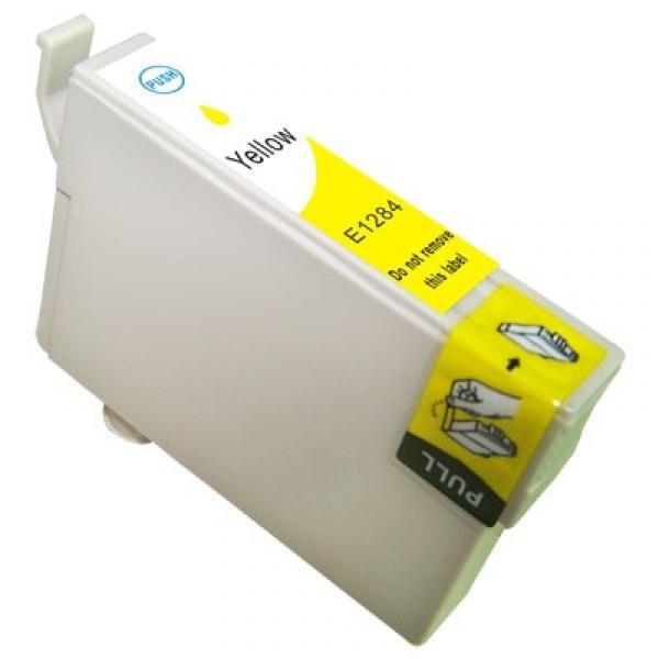 Epson T1284 yellow utángyártott tintapatron Prémium minőség