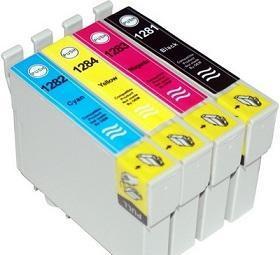 Epson T1285 utángyártott tintapatron multipack