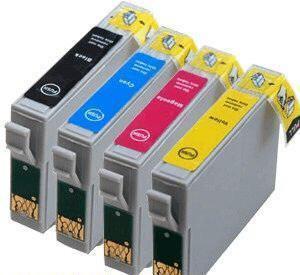 Epson T1301-1304 Szett utángyártott tintapatron csomag 4 db-os (Prémium minőség )