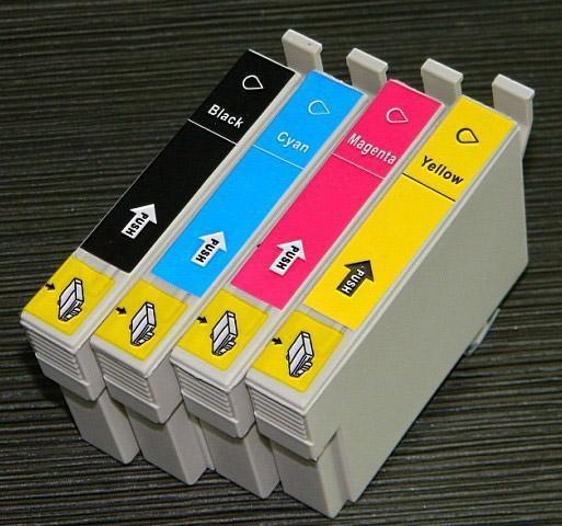 Epson T1802 utángyártott cyán tintapatron