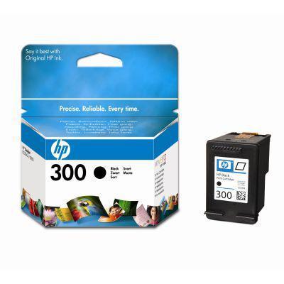 HP  300BK(CC640) fekete eredeti tintapatron