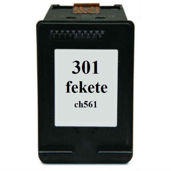 HP 301 (CH563EE) fekete utángyártott tintapatron