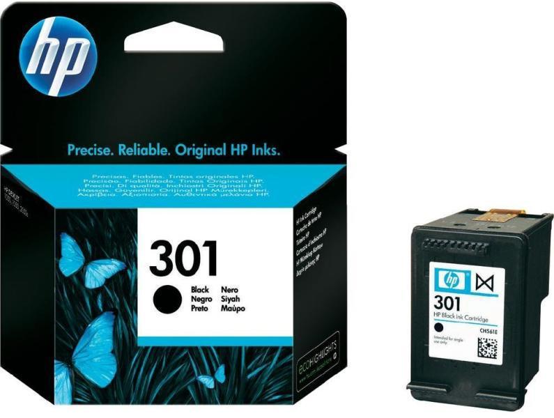 HP 301 fekete eredeti tintapatron  CH561EE