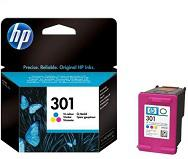HP 301 színes eredeti tintapatron CH562EE