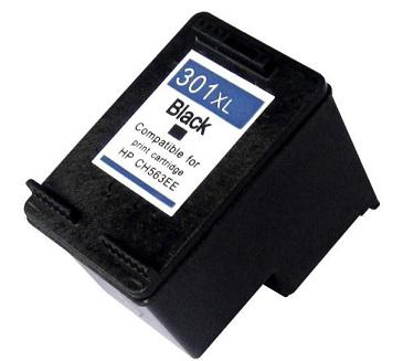 HP 301XL BK (CH563EE) utángyártott tintapatron fekete