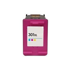 HP 301XL Color (CH564EE) színes utángyártott tintapatron