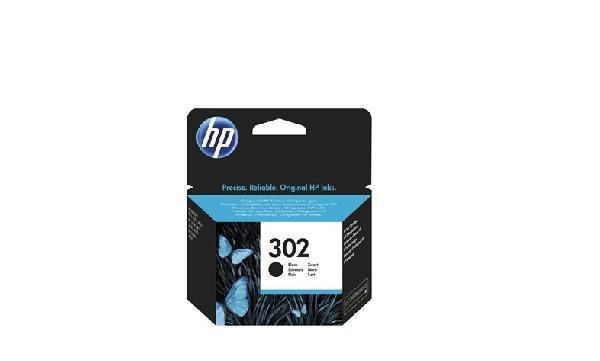 HP 302 fekete eredeti tintapatron F6U66AE