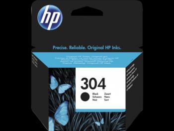 HP  304  fekete eredeti tintapatron  N9K06AE