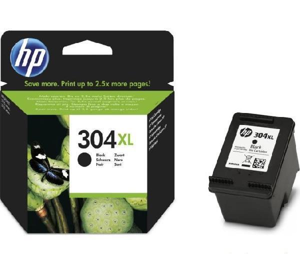 HP 304XL fekete eredeti tintapatronN9K08AE