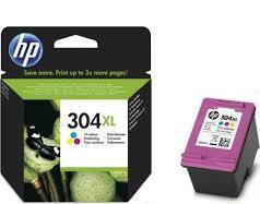 HP 304XL szines eredeti tintapatron N9K07AE