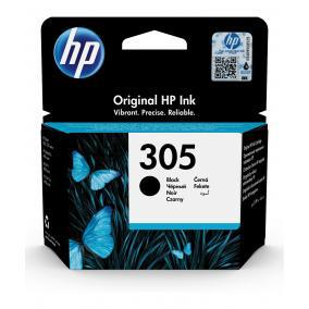 HP 305 eredeti fekete tintapatron 3YM61AE