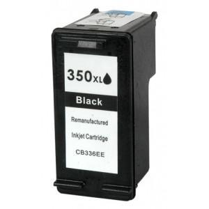 HP 350XL  utángyártott fekete tintapatron CB336EE