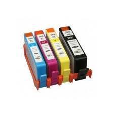 HP 364XL yellow utángyártott tintapatron + chip  (nagykapacitású)  (CB325E)