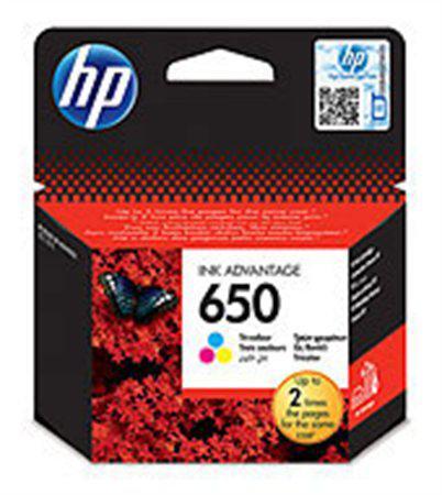 HP  650 szines eredeti tintapatron CZ102AE