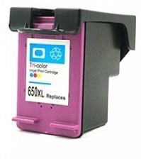 HP  650  XL (CZ102AE) CMY  színes utángyártott tintapatron Prémium minőség