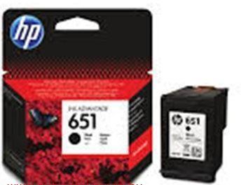 HP 651 fekete eredeti tintapatron C2P10AE