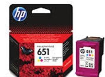 HP 651 színes eredeti tintapatron C2P11AE