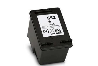 HP 652 utángyártott tintapatron (fekete) F6V25AE.