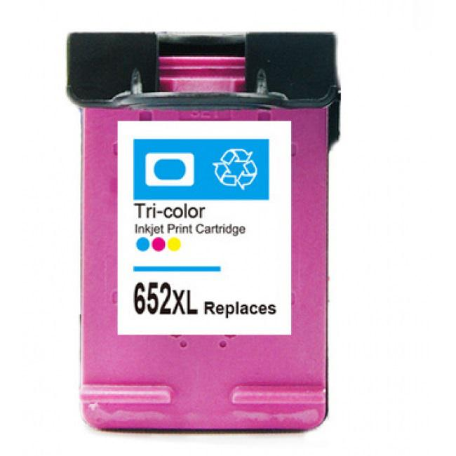 HP 652XL (F6V24AE) színes utángyártott tintapatron nagykapacitású
