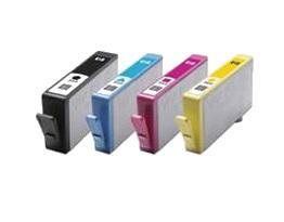 HP 655XL utángyártott tintapatron csomag (4 szín)