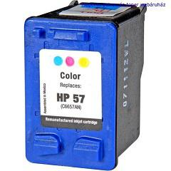HP 6657 (57) utángyártott tintapatron