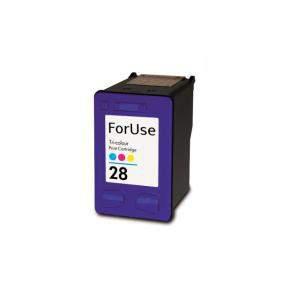HP 8728 (28XL) utángyártott színes tintapatron