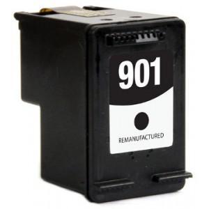 HP 901 XL BK fekete utángyártott tintapatron  (nagykapacitású) 18 ml  (CC654A)