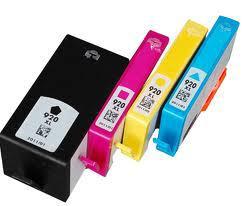 HP 920XL  BK fekete utángyártott tintapatron chipes  (nagykapacitású) (CD972A)