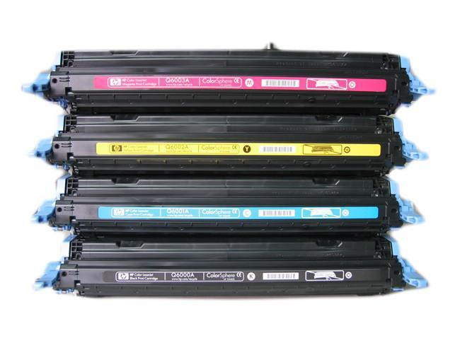 HP Q6001A /124A kék utángyártott toner