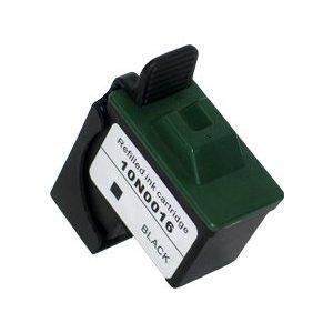 Lexmark 16 /17 fekete utángyártott tintapatron  10N0016E