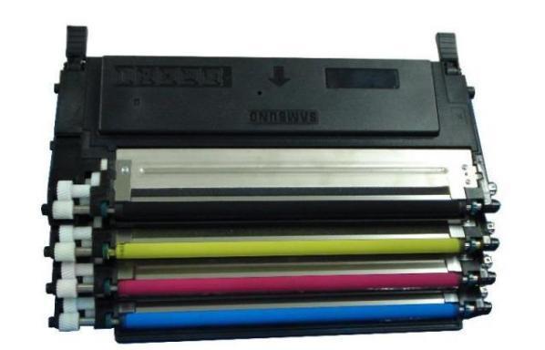 Samsung CLP-360/365/CLX-3300 (CLT406) BK utángyártott toner  CLT-406S BK
