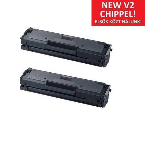 Samsung MLT-D111L (MLT-D111L) V2 duplapack utángyártott toner V2-es chip-pel (SL-M2022/2070)