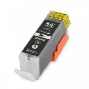 Canon PGI-570 XL [Bk] utángyártott tintapatron chipes