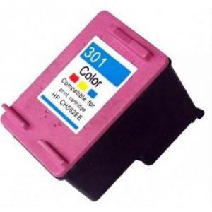 HP 301 (CH562EE) UTÁNGYÁRTOTT tintapatron  színes