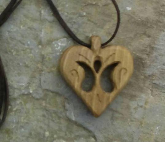 Szív alakú medál 1