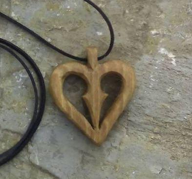 Szív alakú medál 2
