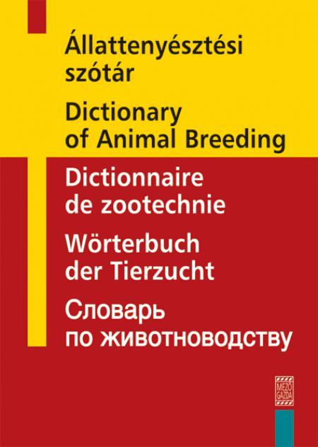 Állattenyésztési szótár
